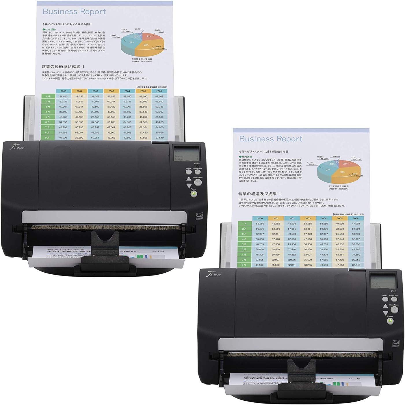 Fujitsu fi-5120C Color Duplex Scanner Complete w// AC and Trays