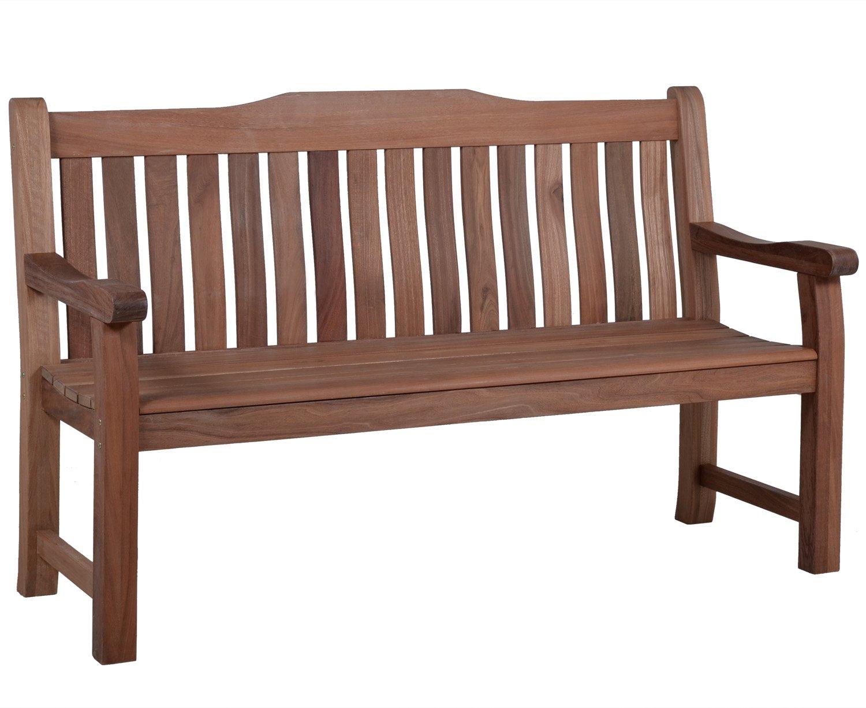 Lünse Gartenmöbel Holz Gartenbank Coburg 3 Sitzer 160 Cm Balauholz Jetzt  Bestellen