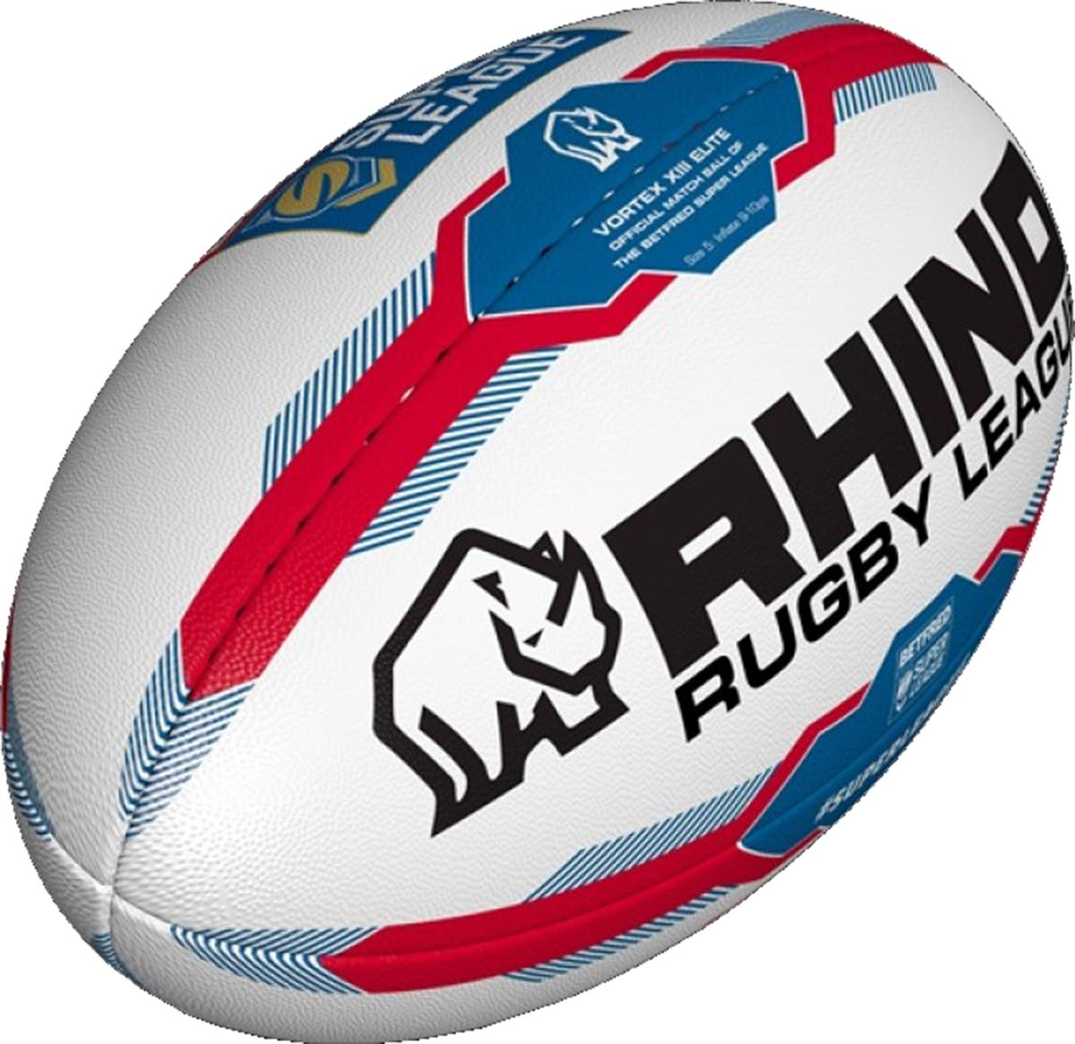 Rhino Super Ligue Sport Extérieur Match Entraînement & Balle D'entraînement Ballon De Rugby Taille 4-5