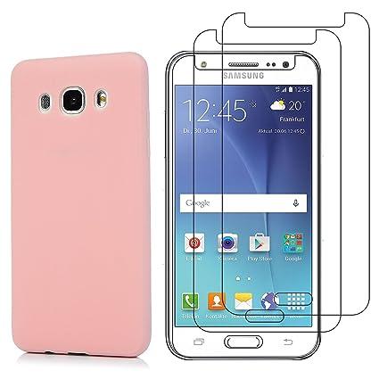 1cf8cd5a651 Funda Samsung Galaxy J5 2016 Cristal Templado, E-Mandala Protector de  Pantalla Vidrio Templado Samsung Galaxy ...