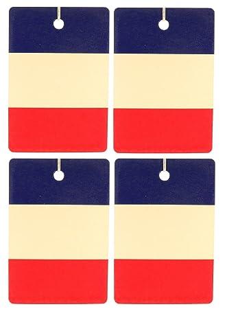 Eclectic Lady Conjunto de cuatro ambientadores francés horizontal indicador leche de avena y miel Vertical: Amazon.es: Hogar