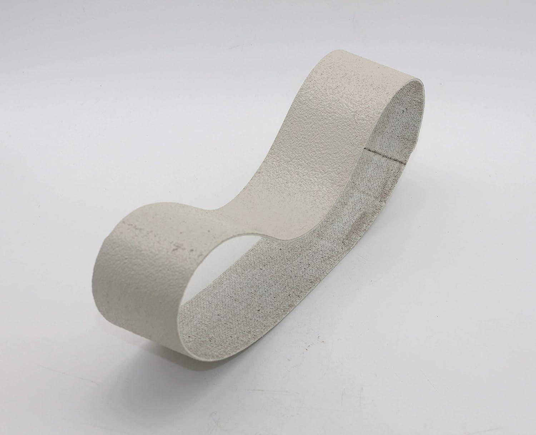 "6/""x2-1//2/"" 3000Grit Diamond Resin Abrasive Soft Lapidary Glass Stone Sanding Belt"