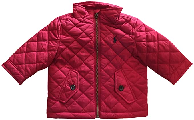 94758fb9ae89 Image Unavailable. Image not available for. Colour  Polo Ralph Lauren Baby  Boys  Baracuda Quilted Jacket ...