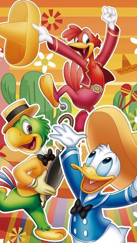ディズニー 三人の騎士 XFVGA(480×854)壁紙画像