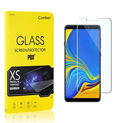 Conber (2 Pack) Screen Protector for Samsung Galaxy A9 2020, [Scratch-Resistant][Anti-Shatter][Case Friendly] Premium Tempered Glass Screen Protector for Samsung Galaxy A9 2020: Baby