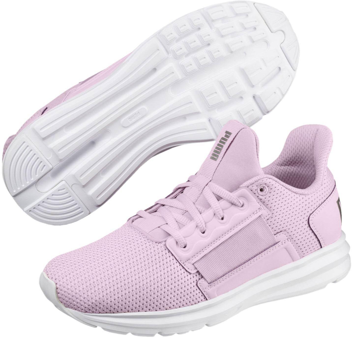 PUMA Women's Enzo Street Wn Sneaker B078C8WHVT 8 M US|Winsome Orchid-puma Silver