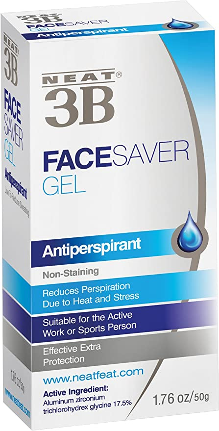 Neat 3B Face Saver Gel - Antiperspirante en gel - 50g
