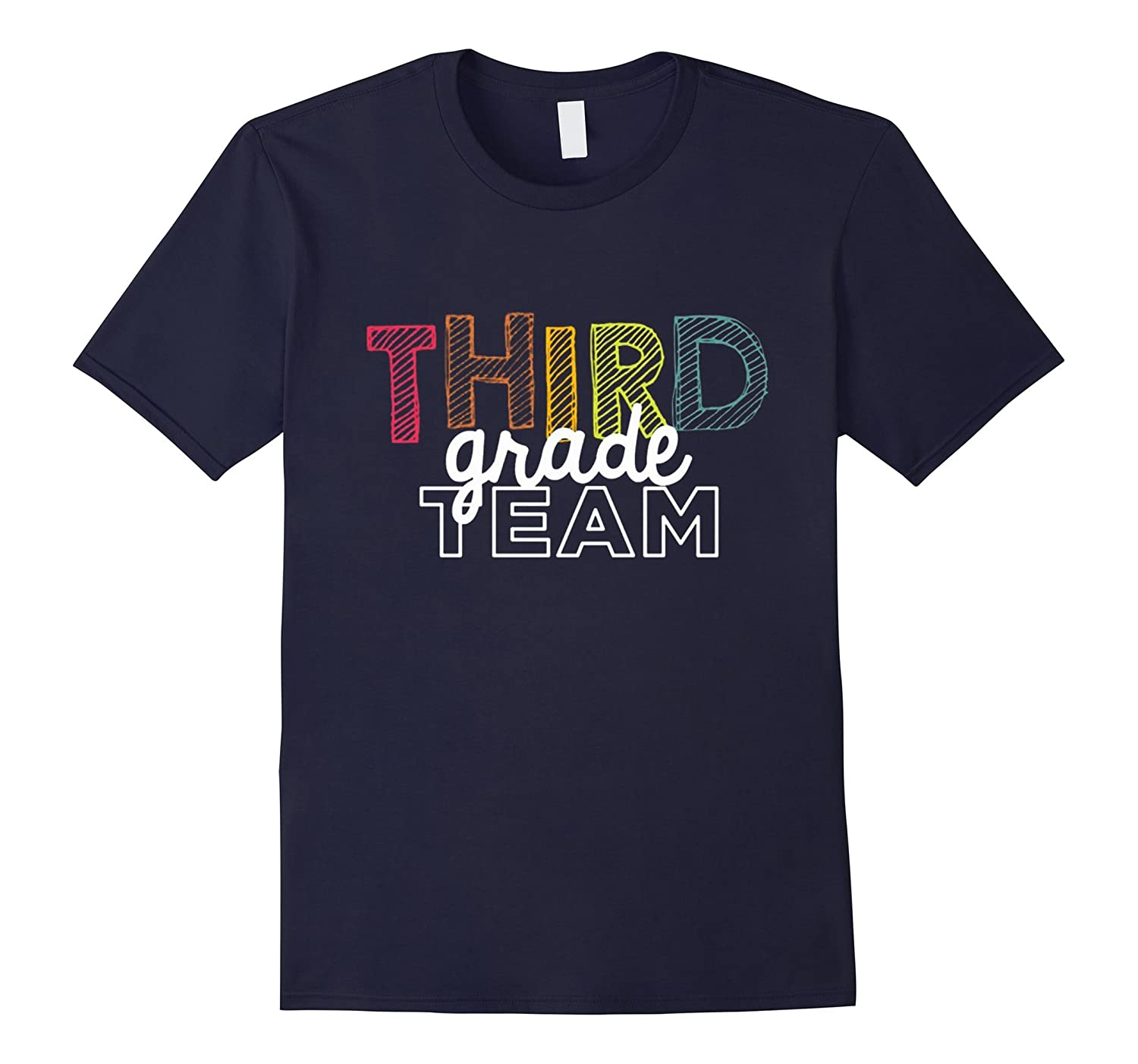 Third Grade Team T Shirt-Art