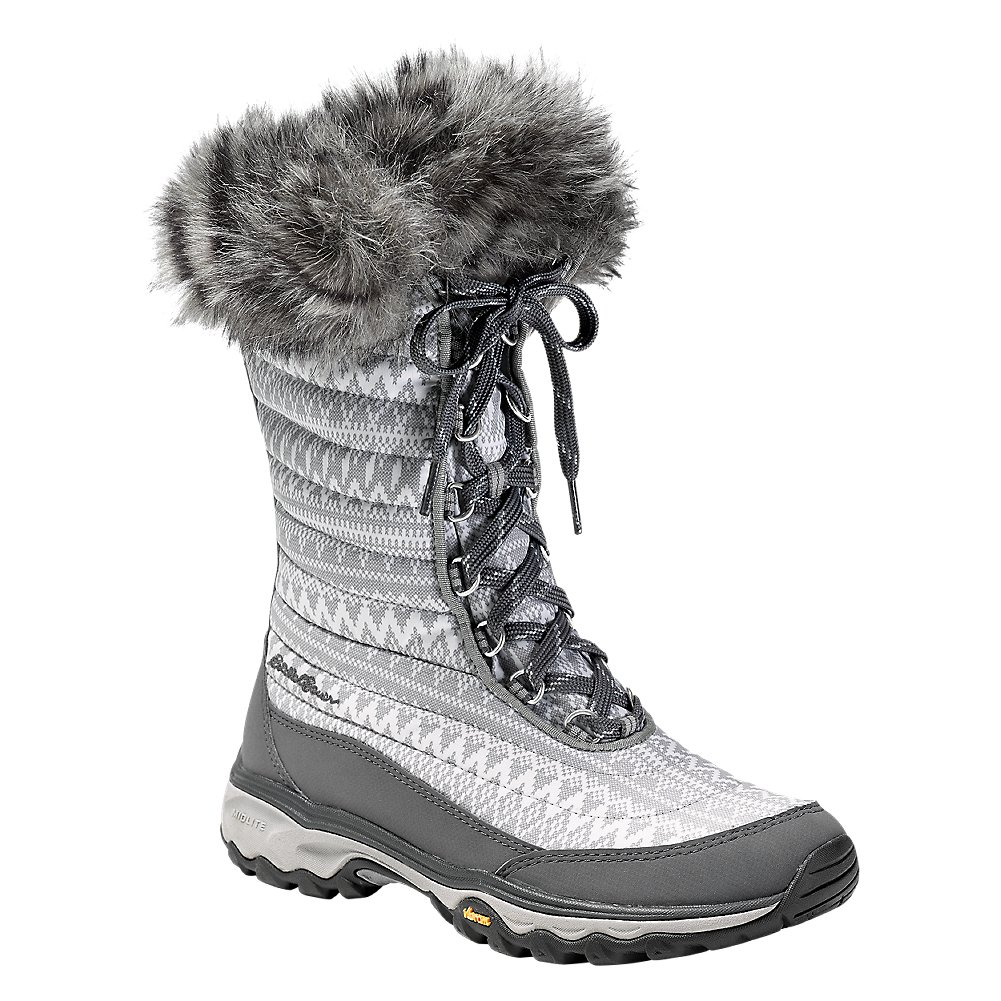 Eddie Bauer Women's MicroTherm 2.0 Boot B01MQHK58P 8 B(M) US|Snow (White)