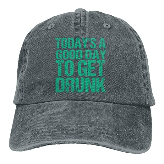 040d699cdaf Grace Shop Unisex Good Day to Get Drunk Cool Hat Natural at Amazon ...