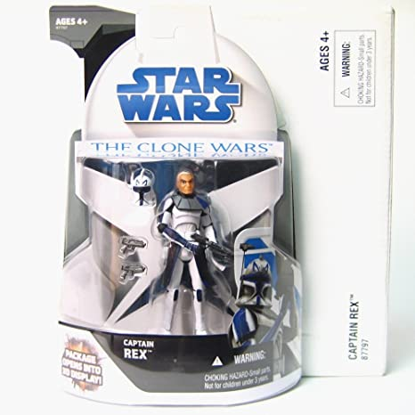 Buy Star Wars The Clone Wars Captain Rex Mail In Figure Online At