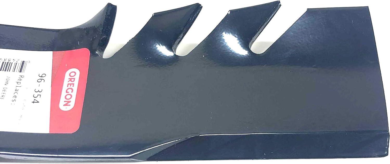"""Oregon 16-15//16/"""" G3 Gator Mulching Blade John Deere 48/"""" Deck M127500 M127673 3PK"""