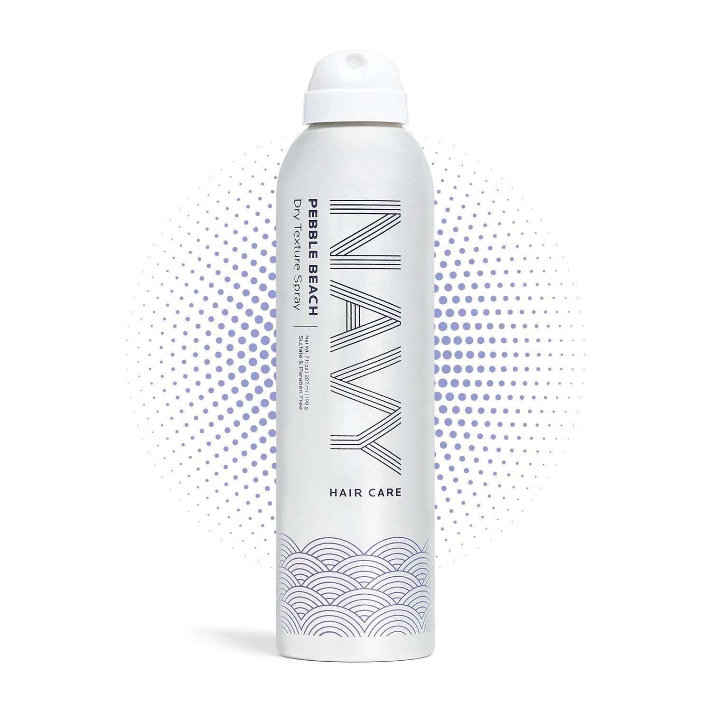 Amazon Com Navy Pebble Beach Dry Texture Spray Hair Thickener Texturizing Spray For Voluminous Locks 7 Oz Beauty