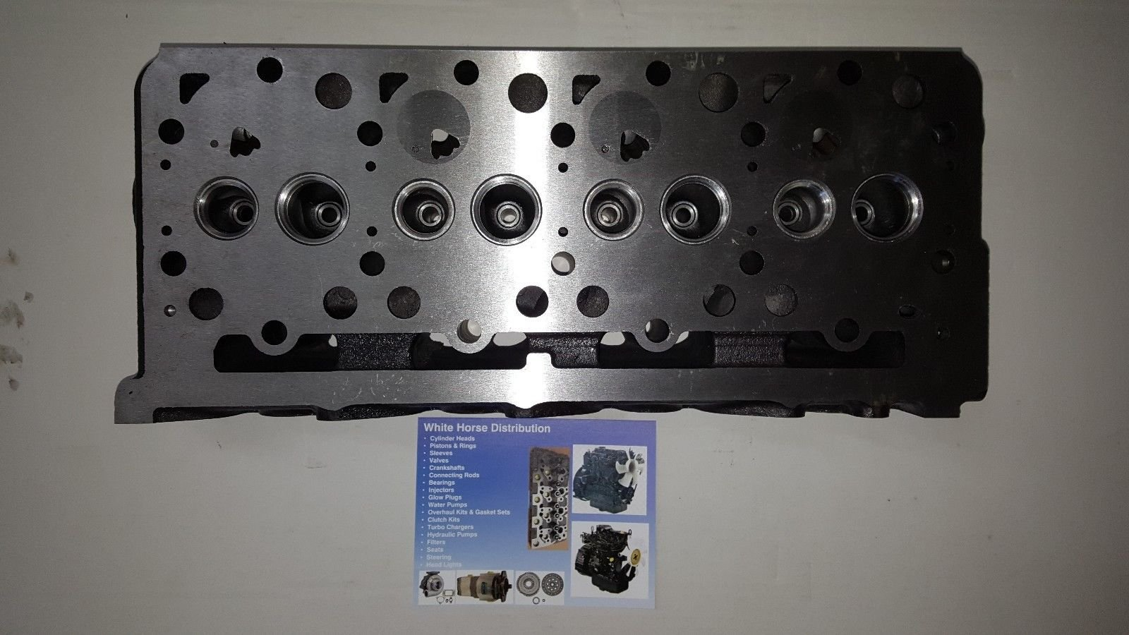 Bobcat B300 Diesel Bare Cylinder Head Part # 6655153 by WHDHD (Image #2)