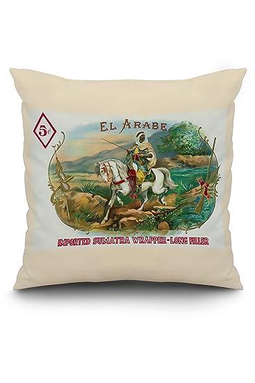 Amazon.com: El Arabe marca caja de puros etiqueta: Home ...