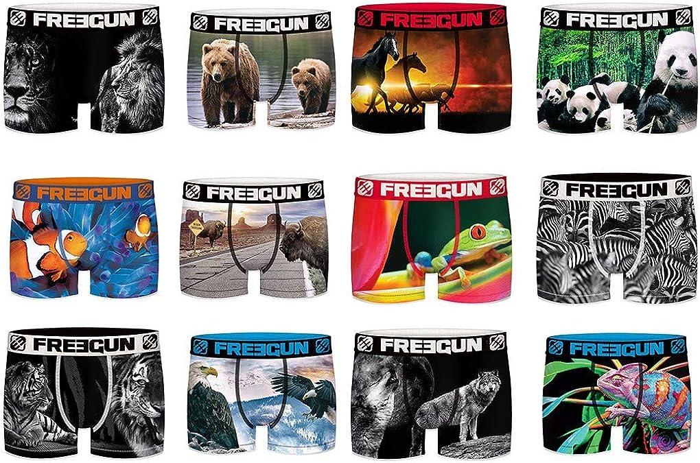 Freegun Boxer Fantaisie Assortiments en Pack Surprise Selon mod/èles Disponibles