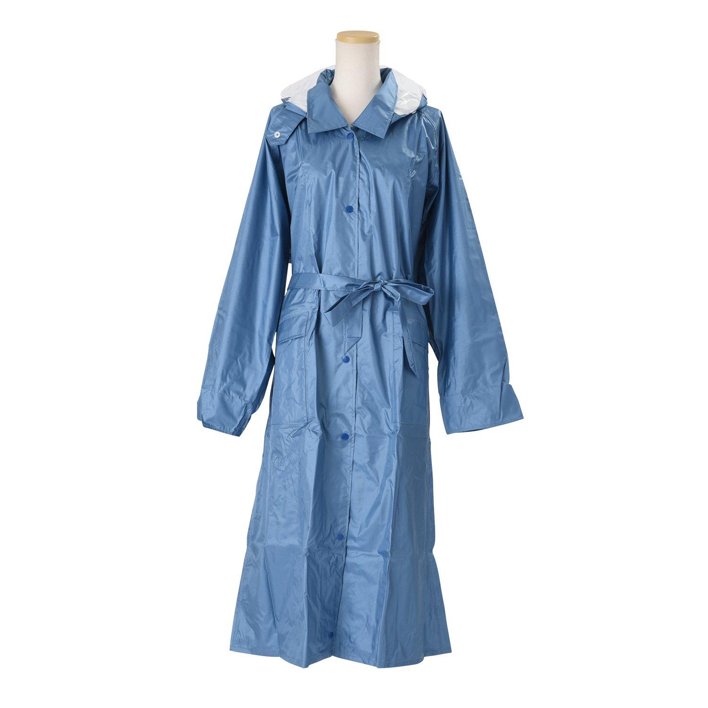 キンカメ レビータレインコート 日本製 全12色 全6サイズ ブルー M(115) 防水 2.5層レイヤー 止水テープ K9000-BL-115 B01ET2SFGA M(115)|ブルー ブルー M(115)