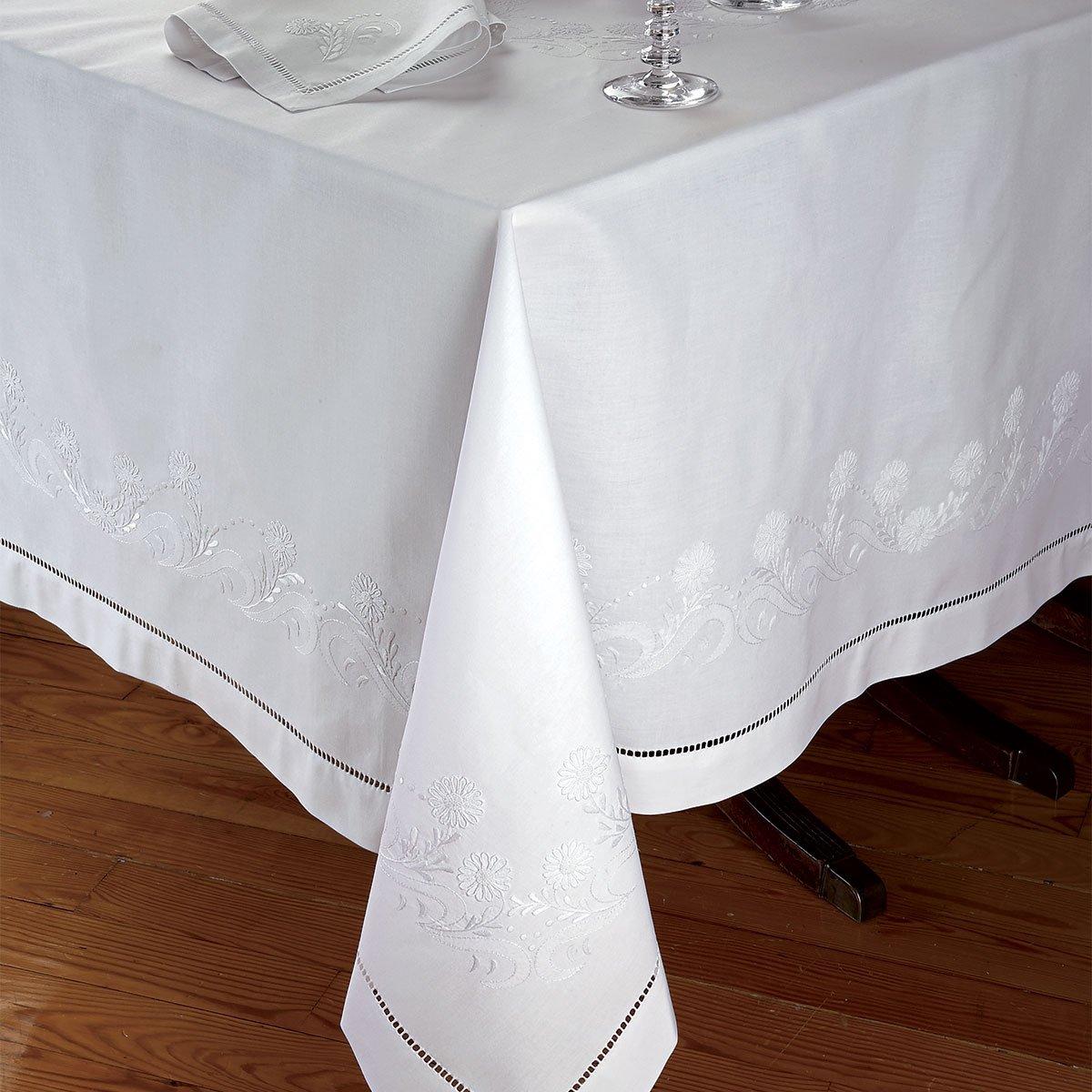 Duchess Napkins, White on White (1 Dozen)