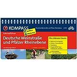 Deutsche Weinstraße und Pfälzer Rheinebene: Fahrradführer mit Top-Routenkarten im optimalen Maßstab