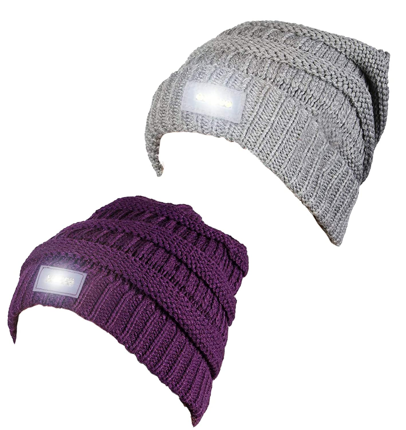 e476b935e7e H-6007-2-6674 Day Night Beanie Bundle - 1 Dove Grey