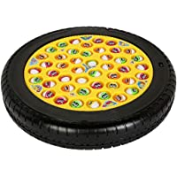 Webby Musical Tyre Fishing Game Toy with 45 Fishes (Multi-Color)