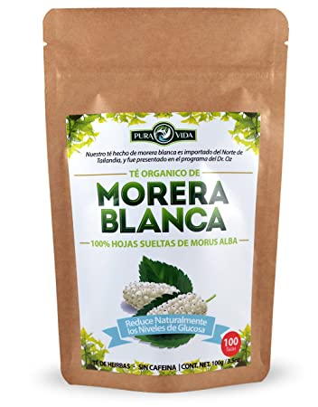 White Mulberry Tea / Te De Morera Blanca - Naturally Reduces Glucose Levels /Reduce Naturalmente