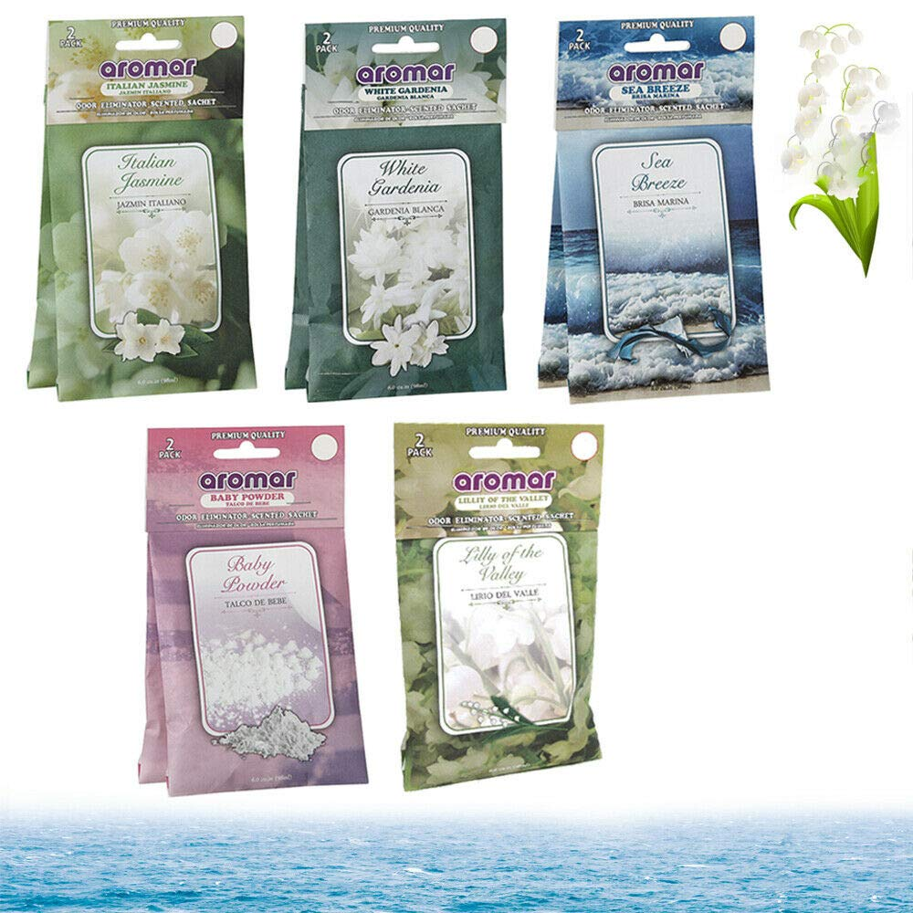 10Pc Scented Fragrance Sachet Pouch Wardrobe Home Drawer Perfume Bag Party Favor by Eravade (Image #1)