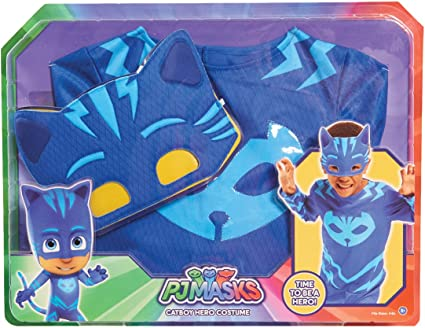 PJ Masks Disfraces, color rojo, 4-6 años (Bandai 24602): Amazon.es ...