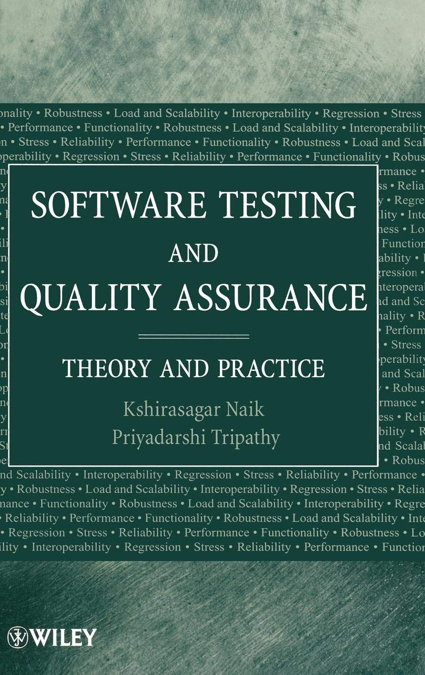 Software Testing and QA: Theory and Practice: Amazon.es: Naik, Tripathy: Libros en idiomas extranjeros