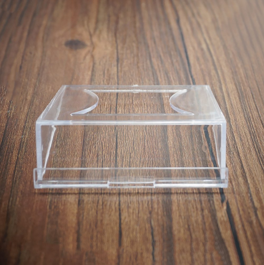 12pcs Plastic Clear Table Numbers Holder Place Card Holder Party Wedding Table Name Card Holder Memo Note Card Photo Holder
