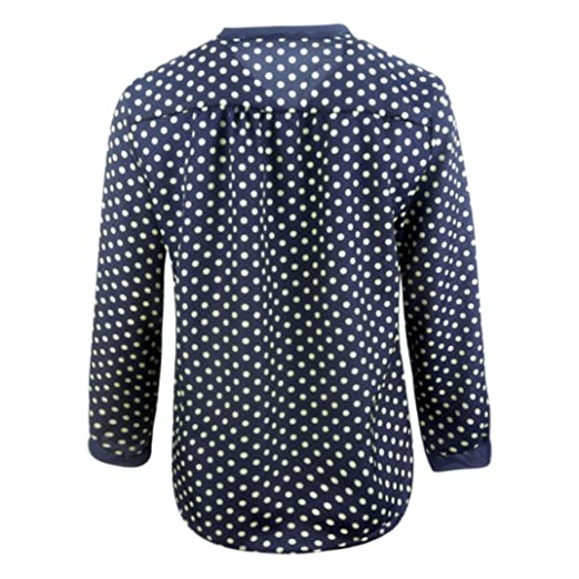 Camisa De Gasa Para Mujer,ZARLLE Moda Para Blusas De Mujer De Moda Elegantes 2018 Cuello En V Camisetas Manga Larga OtoñO Vendaje Bowknot Tops T-Shirt: ...