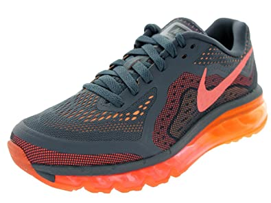 Nike Womens Air Max 2014 Dk Mgnt GreyBrght MngPch Crm Running