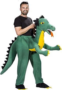 Disfraz de Dragón Verde para Adultos - Talla Única: Amazon.es ...