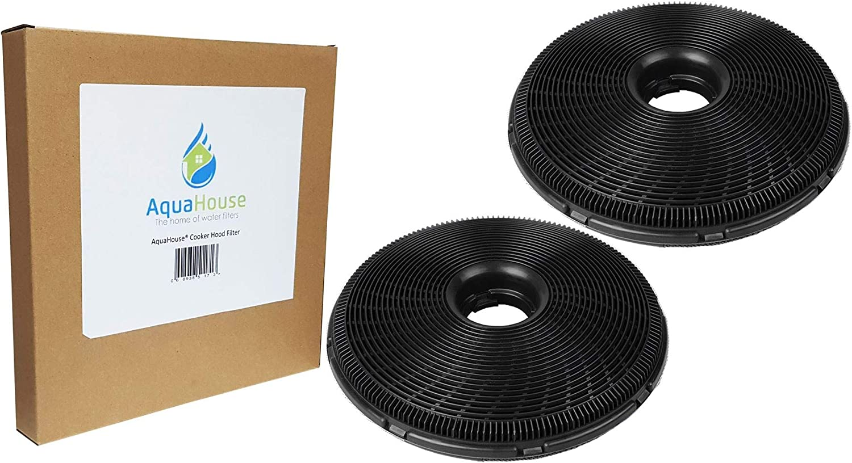 2 filtros de carbón AquaHouse de 190 mm compatibles con varias campanas de cocina de AEG, Britannia, Candy, Electrolux, Zanussi: Amazon.es: Hogar