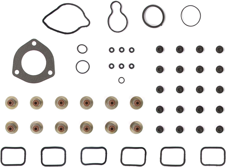 Standard Size Piston Rings 0.25mm 0.010 Oversize Main Rod Bearings Evergreen Engine Rering Kit FSBRR8-30301\0\1\1 Fits 05-09 Dodge Jeep Mitsubishi 3.7 SOHC VIN K Full Gasket Set