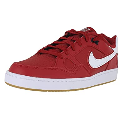 size 40 52dea 16708 Nike Mens Son of Force Gym RED Black Gum Size 8