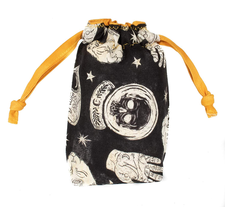 Mighty Stag Flat Bottom  Tarot Accessory Drawstring Bag