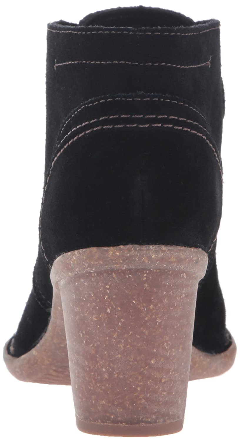 CLARKS Women's Carleta Lyon Boot Suede B0195SP03O 5 B(M) US|Black Suede Boot 23f766
