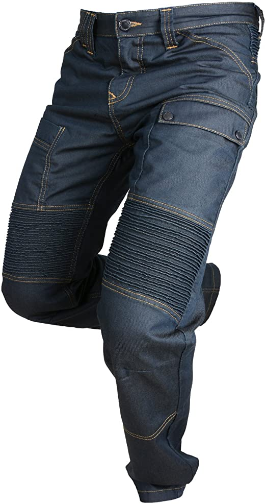 Overlap Pantalones vaqueros Jeans de Moto