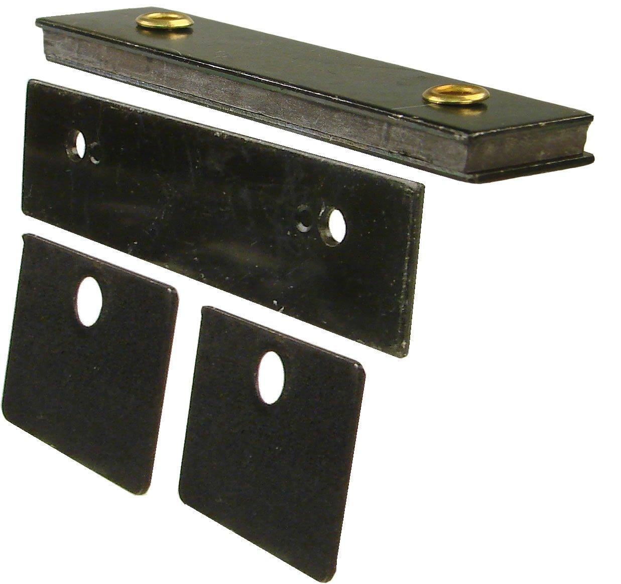 Monroe High Performance Magnetic Catch, Black Zinc Finish, 22 lbs Pull Power