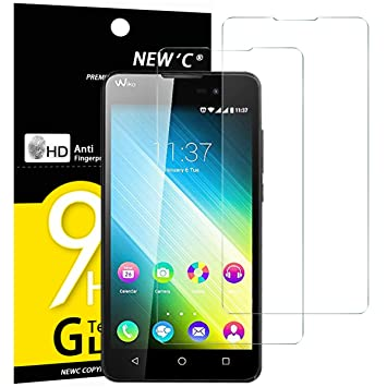 Tempered Glass Screen Protector Wiko Lenny 2 Newc®: Amazon