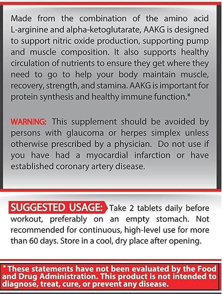 Pure Nutrition USA AAKG Powder Pre Workout L Arginine Conditionally  Essential L-Arginine Amino