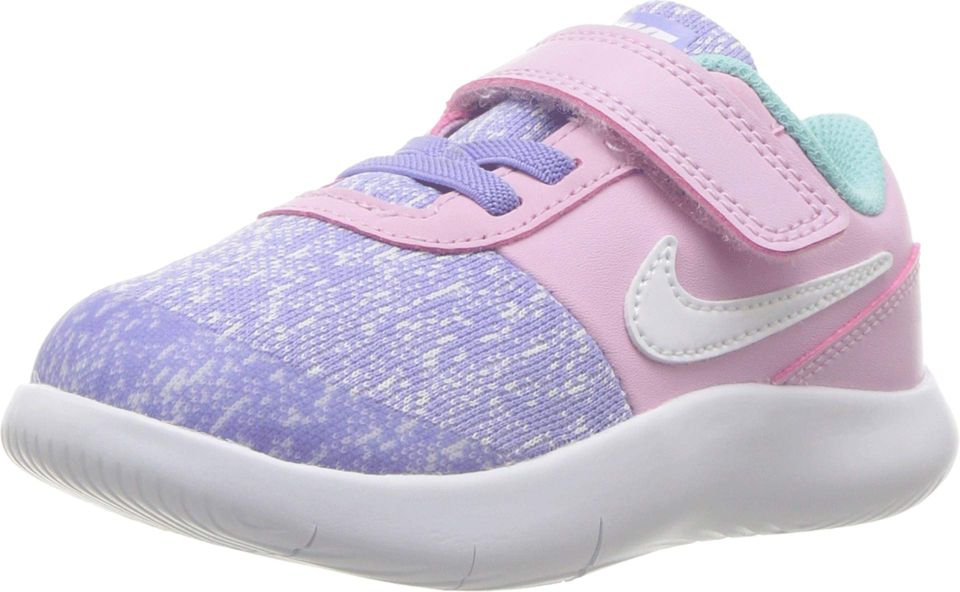 Nike Girls 4-10 Flex Contact Unicorn Sneakers (6M Toddler, Ocnbls/White)