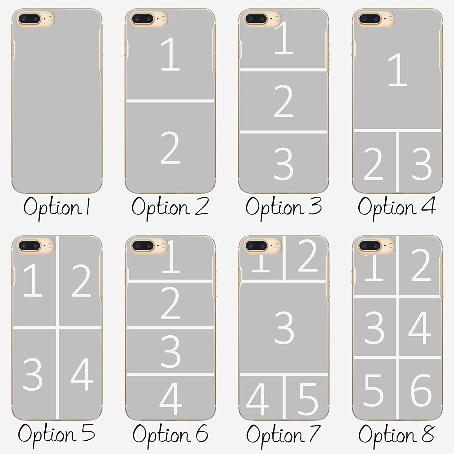 Customize Now Custom Photo Hard Cover Personalize with Image Personalised Phone Case For Samsung Galaxy S9+ // S9 Plus