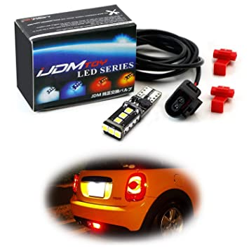 amazon com ijdmtoy led rear fog lamp enabling kit for mini cooper Honda Accord Wiring Harness Diagram ijdmtoy led rear fog lamp enabling kit for mini cooper r56 r57 r58 f59 f55 f56