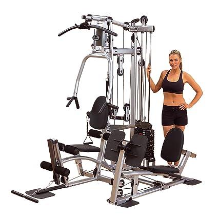 Powerline Home Gym With Leg Press Grey Black