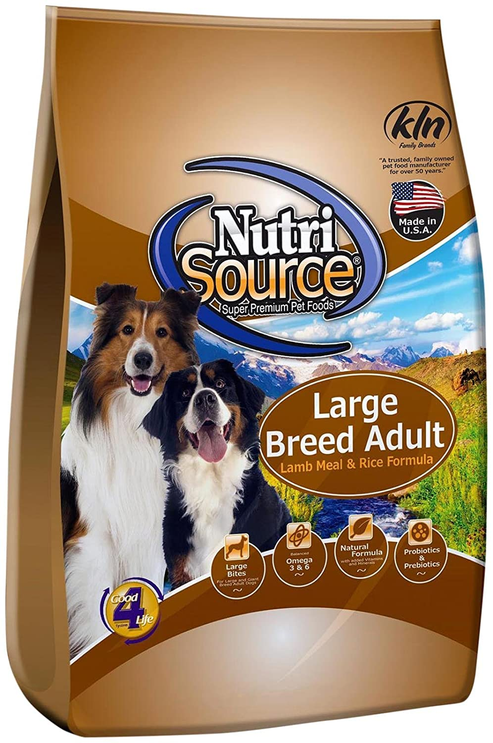 Tuffy S Nutrisource 30-Pound Chicken And Rice Formula Breed Dry Puppy Food, Small Medium