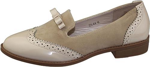 Womens Bow Embellished Slip On Shoes