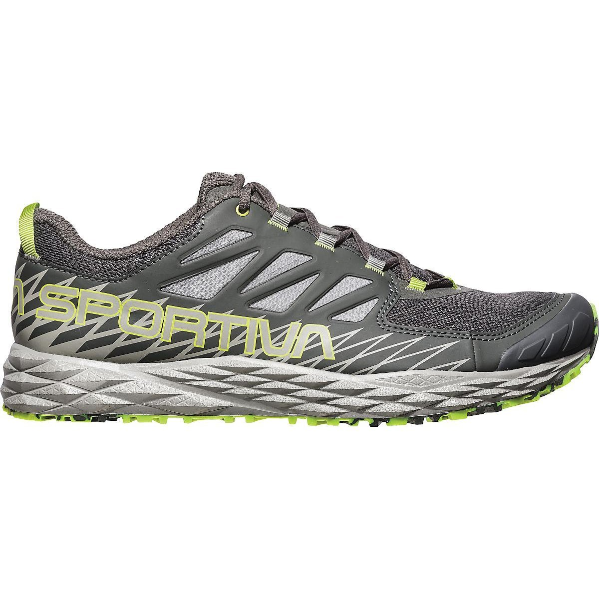 La Sportiva Lycan Running Shoe - Men's B07214JQJH 44 M EU|Carbon/Apple Green