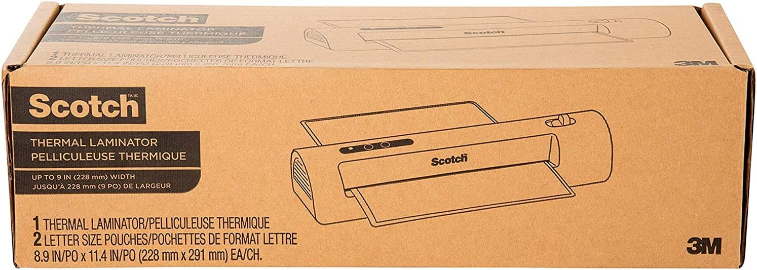 Suitable for use with Photos TL901X Office or School Use for Home Scotch Thermal Laminator 2 Roller System for a Professional Finish New